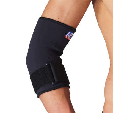 LP #723 NEOPRENE TENNIS ELBOW SUPPORT  WITH STRAP (LARGE)