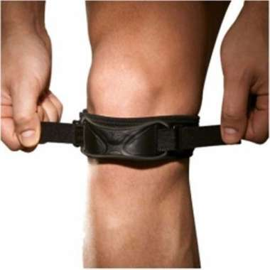LP #581 NEOPRENE KNEE SUPPORT DUAL PATELLA STRAP (LARGE)