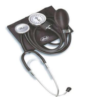 VITAL HS 50A ANEROID BP MONITOR WITH STETHOSCOPE