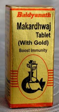 BAIDYANATH MAKARDHWAJ TABLET (WITH GOLD)