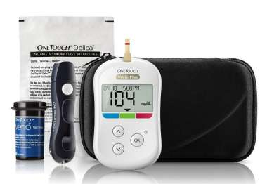 ONE TOUCH VERIO FLEX GLUCOMETER KIT