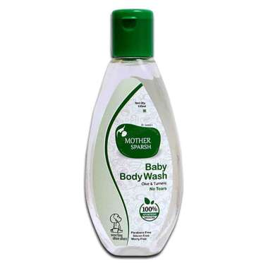MOTHER SPARSH  BABY BODY WASH  OLIVE & TURMERIC