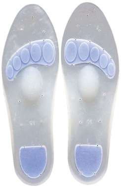 TYNOR K-01 INSOLE FULL SILICON (SMALL) PAIR