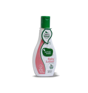 MOTHER SPARSH BABY LOTION  OLIVE OIL & ALOEVERA