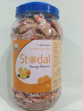 STODAL COUGH LOZENGES - ORANGE TABLET