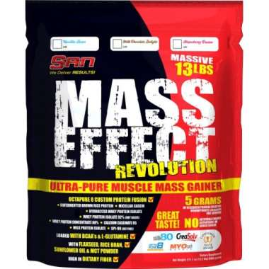 SAN MASS EFFECT REVOLUTION POWDER VANILLA BEAN