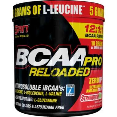 SAN BCAA PRO RELOADED POWDER STRAWBERRY KIWI