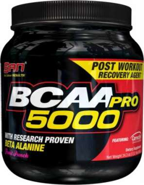 SAN BCAA PRO 5000 POWDER FRUIT PUNCH