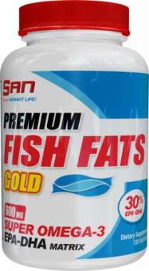 SAN PREMIUM FISH FATS GOLD CAPSULE