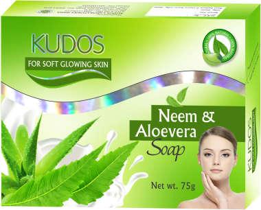 KUDOS NEEM & ALOE VERA  SOAP