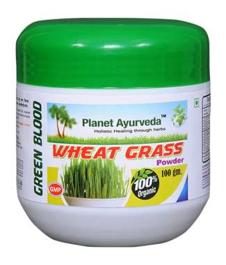 PLANET AYURVEDA WHEAT GRASS POWDER