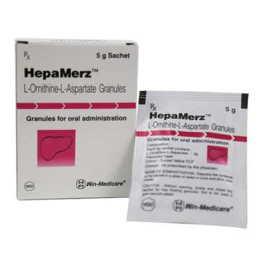 HEPA MERZ 1.5 GM GRANULES
