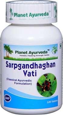 Planet Ayurveda Sarpgandhaghan Vati