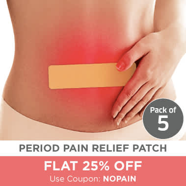 SIRONA FEMININE PAIN RELIEF  PATCH