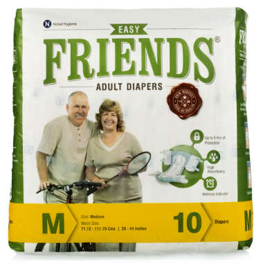 FRIENDS EASY ADULT DIAPER (MEDIUM)
