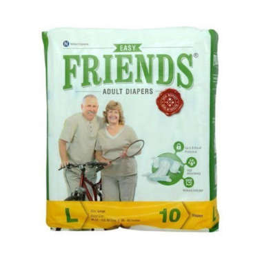 FRIENDS EASY ADULT DIAPER (LARGE)
