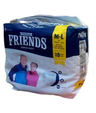 FRIENDS PREMIUM DIAPER PANTS (MEDIUM TO LARGE)