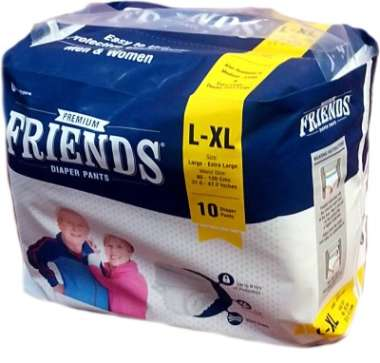 FRIENDS PREMIUM PANTS DIAPER L-XL