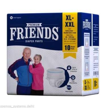 FRIENDS PREMIUM PANTS DIAPER (XL TO XXL)