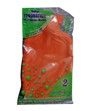Coronation Hot Water Bottle (with Cover)