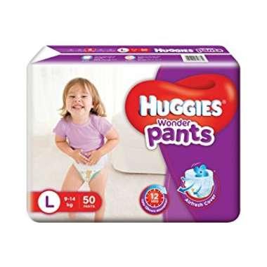 HUGGIES WONDER PANTS DIAPER (LARGE)