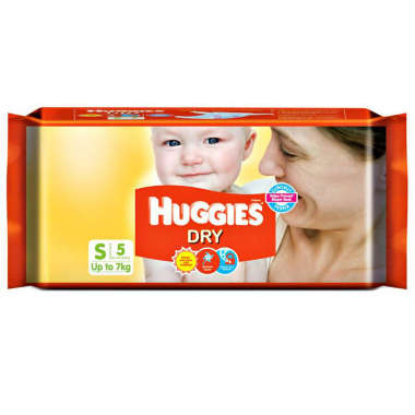 HUGGIES DRY  DIAPER (SMALL)