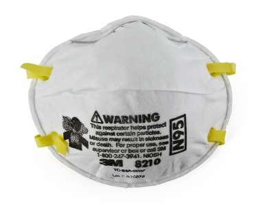 3M N95 8210 PARTICULATE RESPIRATOR  MASK (PACK OF 10)