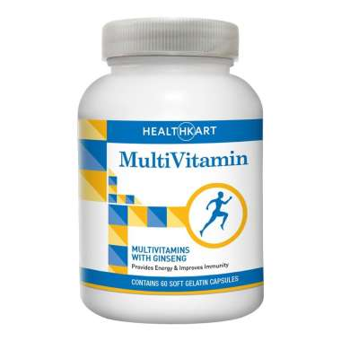 HEALTHKART MULTIVITAMIN WITH GINSENG CAPSULE