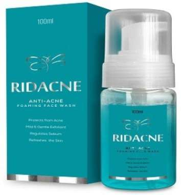RIDACNE FOAMING FACE WASH
