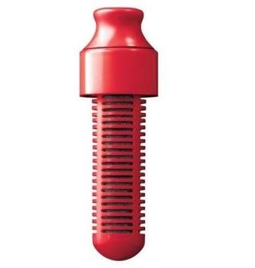BOBBLE REPLACEMENT FILTER  (RED)