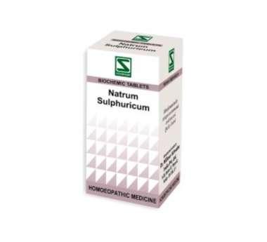 NATRUM SULPHURICUM BIOCHEMIC TABLET 6X
