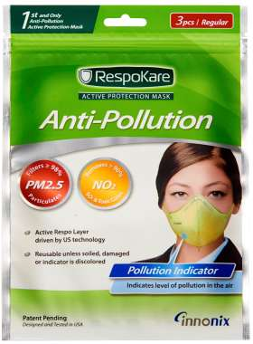 RESPOKARE ANTI-POLLUTION MASK - SET OF 3 MASK (REGULAR)