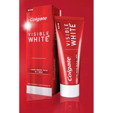COLGATE VISIBLE WHITE TOOTHPASTE