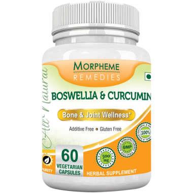 MORPHEME BOSWELLIA & CURCUMIN  CAPSULE