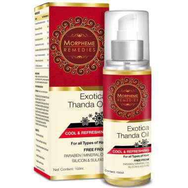 Morpheme Exotica  Thanda Hair Oil