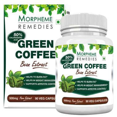 MORPHEME GREEN COFFEE BEAN EXTRACT CAPSULE