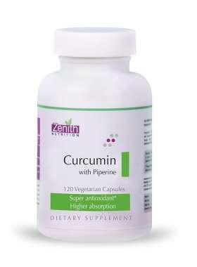 ZENITH NUTRITION CURCUMIN WITH PIPERINE CAPSULE