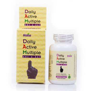 ZENITH NUTRITION DAILY ACTIVE MULTIPLE ONE- A - DAY CAPSULE