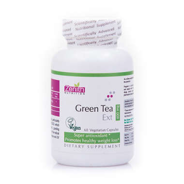 ZENITH NUTRITION GREEN TEA EXTRACT   400MG  CAPSULE