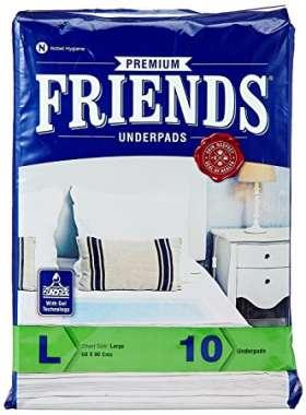 FRIENDS PREMIUM UNDERPADS (LARGE)