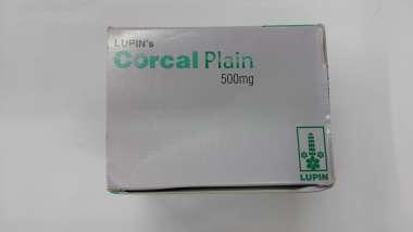 CORCAL PLAIN 500MG TABLET