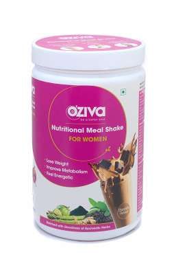OZIVA NUTRITIONAL MEAL SHAKE (MEAL REPLACEMENT) FOR WOMEN CHOCOLATE