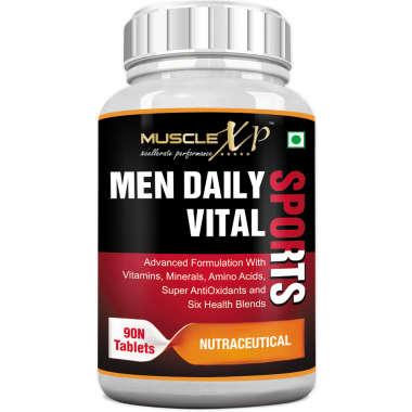 MuscleXP Men Daily Vital Sports Tablet