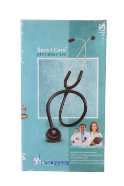 SARA CARE STETHOSCOPE (BLACETONE)