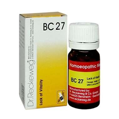 DR. RECKEWEG BC 27 TABLET