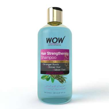 WOW ORGANICS HAIR STRENGTHENING SHAMPOO
