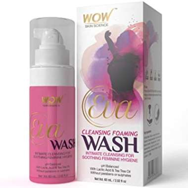 WOW EVA  CLEANSING FOAMING WASH