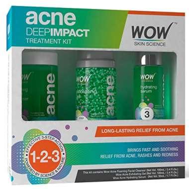 WOW Acne Deep Impact Kit