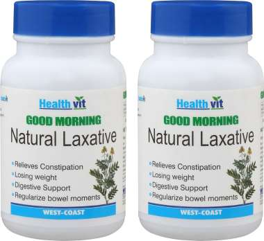 HealthVit  Good Morning  Natural Laxative Tablet (Pack OF 2)