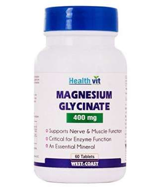 HealthVit Magnesium Glycinate 400mg Tablet